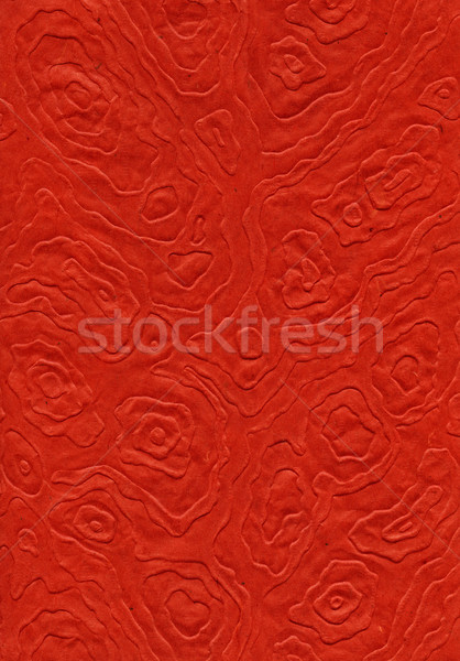 Rice Paper Texture - Mandalas Red XXXXL Stock photo © eldadcarin