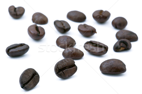 Coffee Beans Array Stock photo © eldadcarin