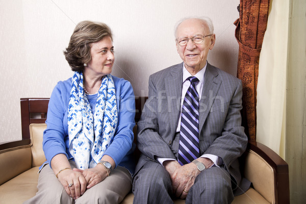 Elderly Couple Stock photo © eldadcarin