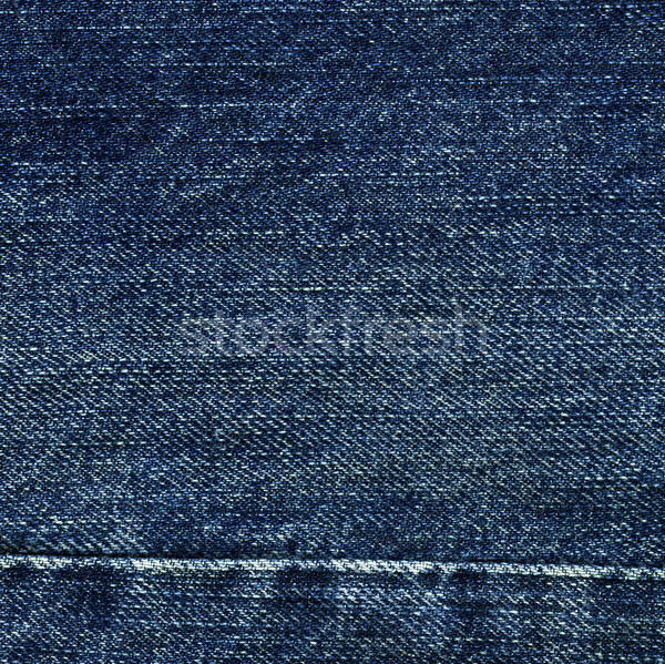 Denim Fabric Texture - With Seam Stock photo © eldadcarin