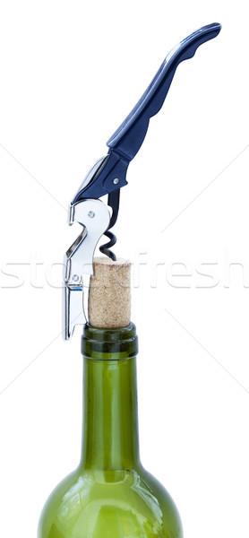 Cork Extraction Stock photo © eldadcarin