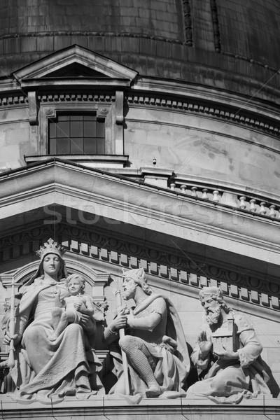 Detail basiliek Boedapest Hongarije kerk Stockfoto © eldadcarin