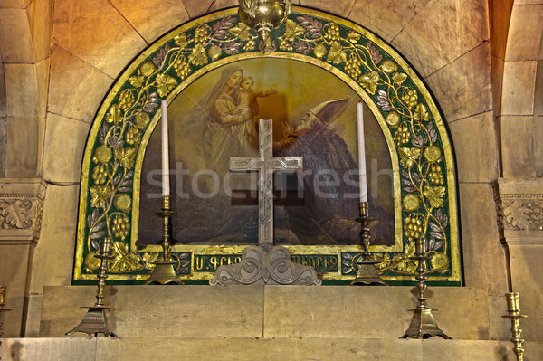 St. Helen Chapel - Church of the Holy Sepulchre Stock photo © eldadcarin