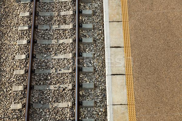 Train Station Platform & Railway Stock photo © eldadcarin