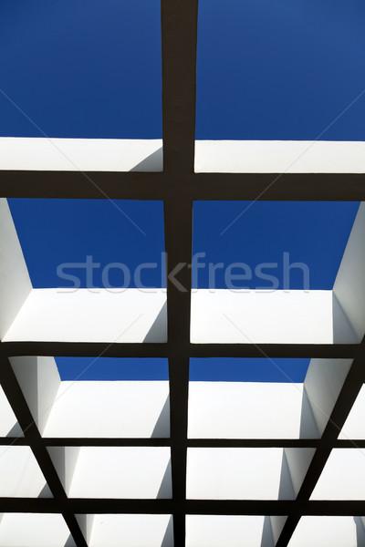 Diminishing Pergola Stock photo © eldadcarin