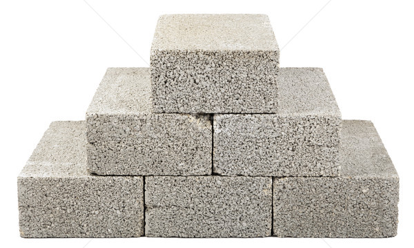 Construction Blocks Pyramid Stock photo © eldadcarin