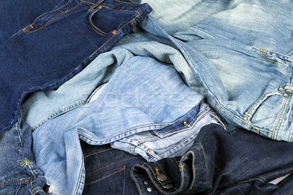 Jeans Background Stock photo © eldadcarin