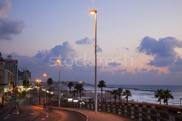 Foto d'archivio: Spiaggia · view · spiagge · vecchio · città