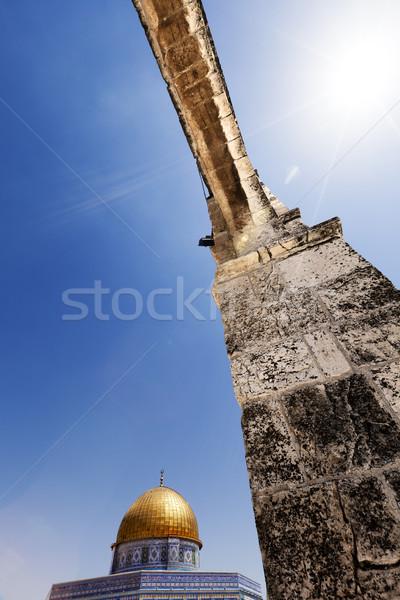 ドーム 岩 古い 市 エルサレム 1 ストックフォト © eldadcarin