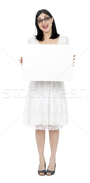лет платье женщину знак Сток-фото © eldadcarin