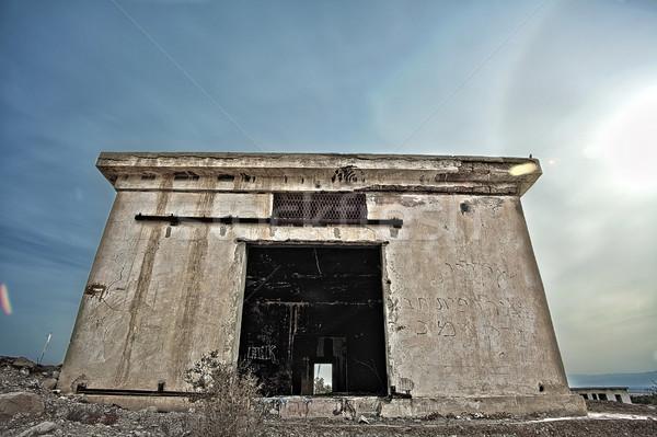 Abandoned Barracks Stock photo © eldadcarin