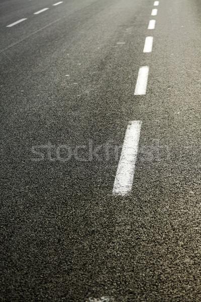 Namiddag meervoudig weg mooie Maakt een reservekopie Stockfoto © eldadcarin