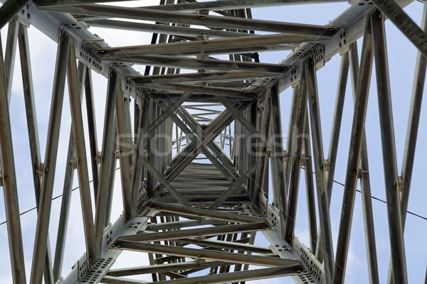 Pylon Abstract Stock photo © eldadcarin