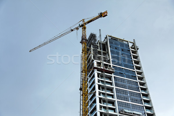 High Rise Construction Stock photo © eldadcarin