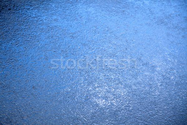 влажный асфальт Blues дождь синий Сток-фото © eldadcarin