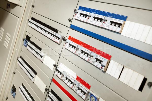 Electricity Distribution Control Stock photo © eldadcarin