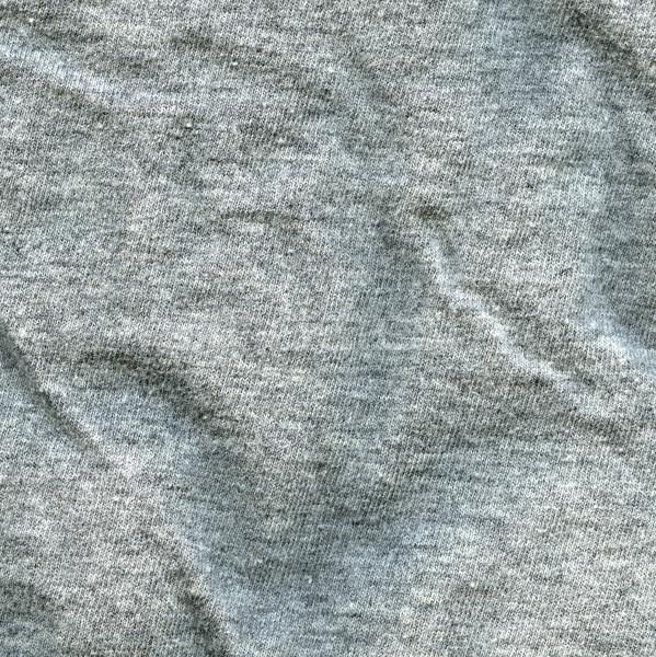 Katoen weefsel textuur grijs hoog Stockfoto © eldadcarin