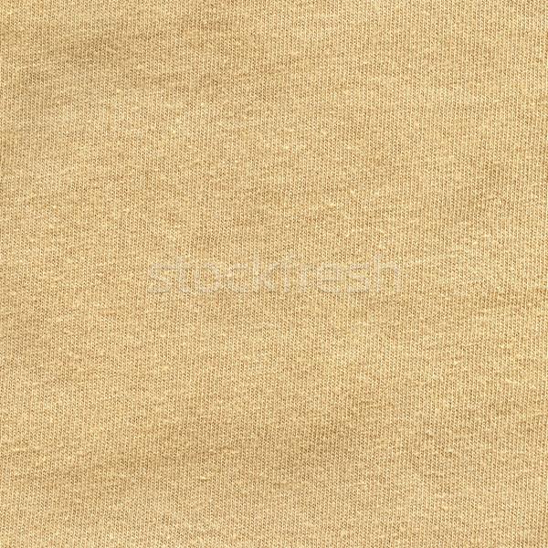 綿 ファブリック テクスチャ ベージュ 高い ストックフォト © eldadcarin