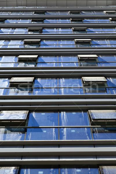 Diminishing Curtain Wall Stock photo © eldadcarin