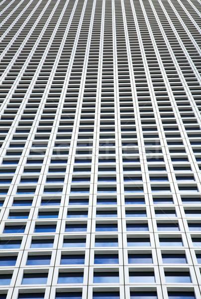 Gökdelen pencereler büyük miktar aynı kare Stok fotoğraf © eldadcarin
