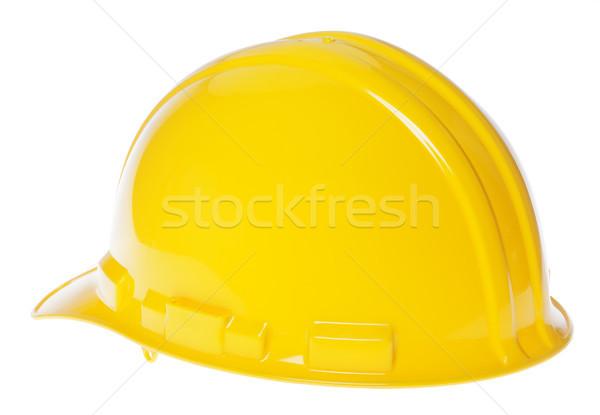Isolated Hard Hat - 45° Back Yellow Stock photo © eldadcarin