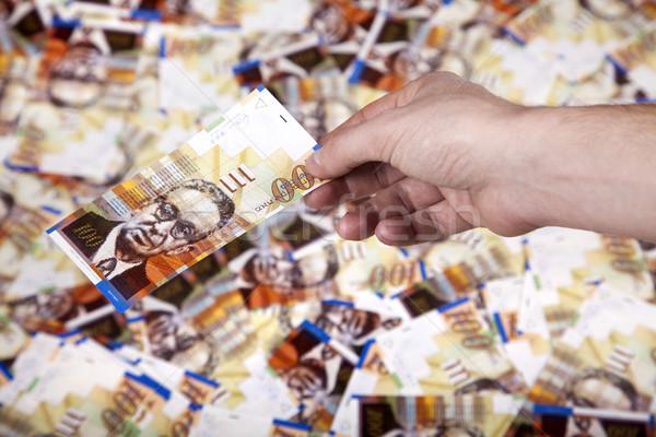 Para nakit doğru el yetişkin Stok fotoğraf © eldadcarin