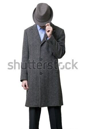 Mysterious Mobster Stock photo © eldadcarin