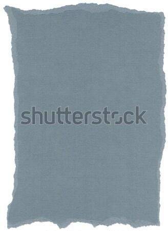 Izolált rost papír textúra levegő kék textúra Stock fotó © eldadcarin