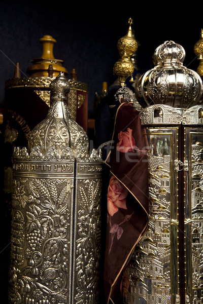 Torah Scrolls Containers Stock photo © eldadcarin