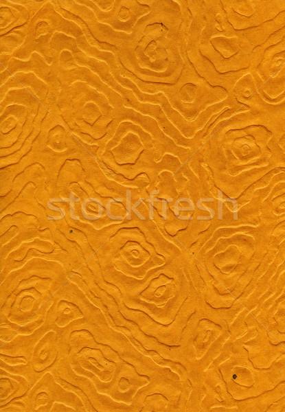Riso texture carta arancione alto scansione Foto d'archivio © eldadcarin