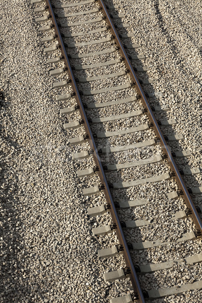 Tilted Railroad  Stock photo © eldadcarin