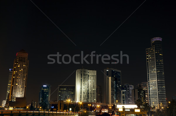 Downtown Skyline Stock photo © eldadcarin