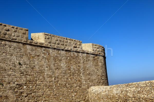 Old Acco City Wall Stock photo © eldadcarin