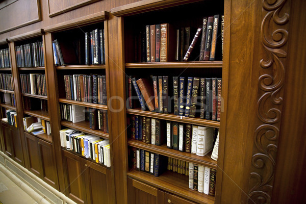 Holy Jewish Library Stock photo © eldadcarin