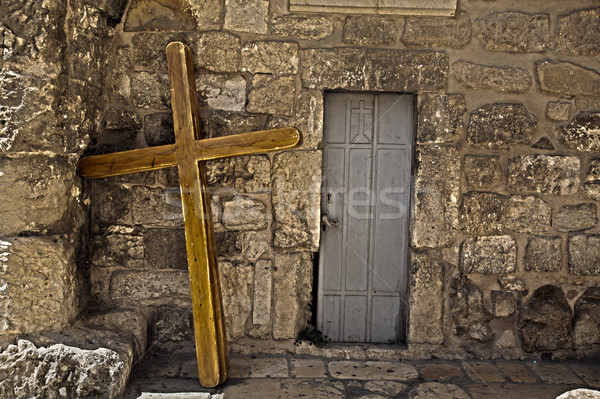 Pilgrimage Crosses Stock photo © eldadcarin