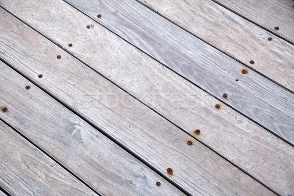átló fából készült fedélzet fa absztrakt háttér Stock fotó © eldadcarin