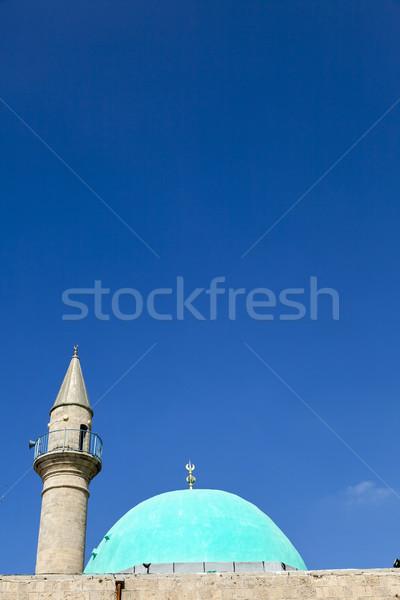 Al-Bahr Mosque Stock photo © eldadcarin