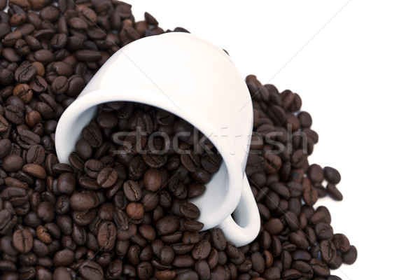 Spilt Coffee Beans Stock photo © eldadcarin
