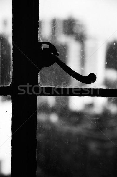 Urban Window Knob Stock photo © eldadcarin