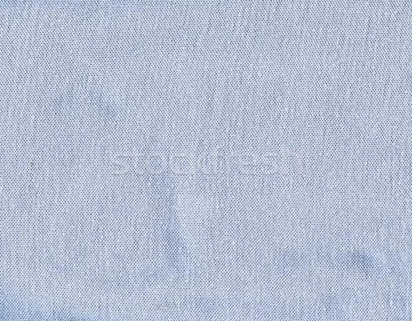Katoen weefsel textuur pastel Blauw hoog Stockfoto © eldadcarin