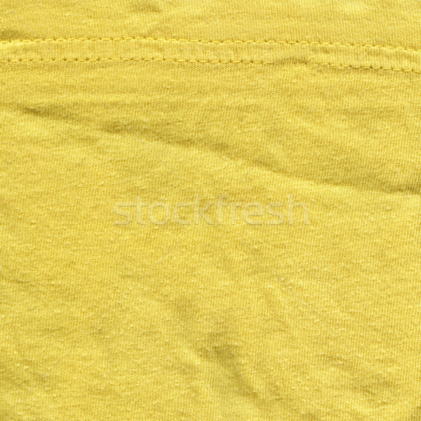 Katoen weefsel textuur heldere Geel hoog Stockfoto © eldadcarin