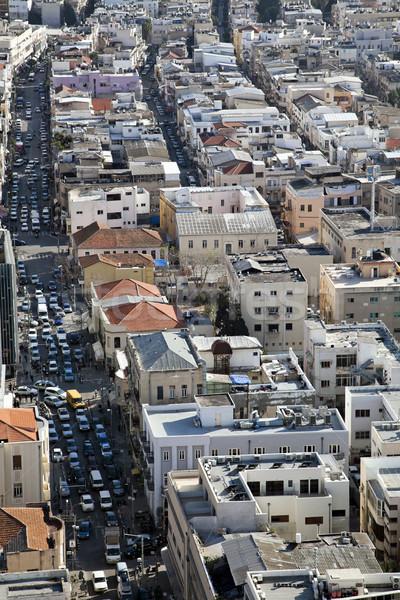 Heavy Traffic in the City Stock photo © eldadcarin