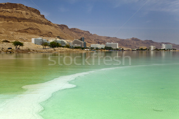Dead Sea Hotel Strip Stock photo © eldadcarin