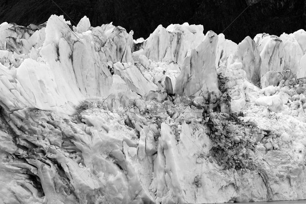 Ghiacciaio rupe sud america natura montagna rock Foto d'archivio © eldadcarin