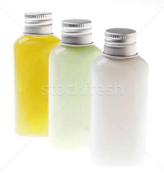 Isolated Lotion Bottles Stock photo © eldadcarin