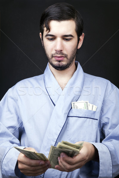 Making Cash at Home Stock photo © eldadcarin