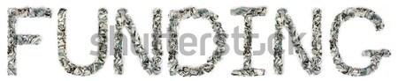Donate - Crimped 100$ Bills Stock photo © eldadcarin
