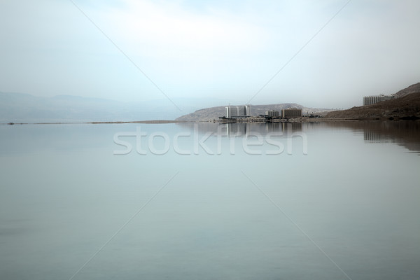 Hotels at Dead Sea Shoreline Stock photo © eldadcarin