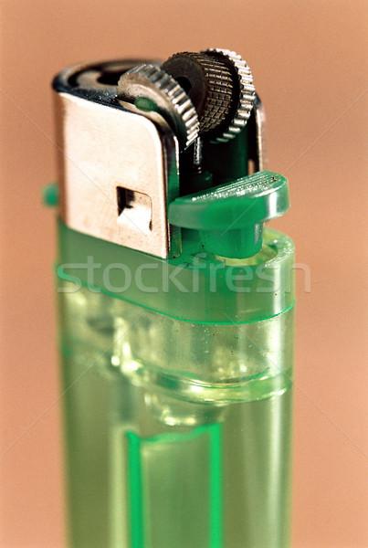 зеленый используемый легче тень пластиковых Сток-фото © eldadcarin