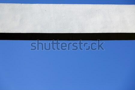 具体的な ビーム 青空 白 フレーム テクスチャ ストックフォト © eldadcarin